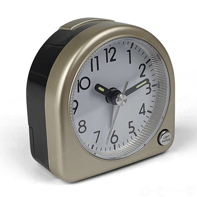 TFA Germany Lily Mini Alarm Clock Gold 7cm 60.1020.53 3