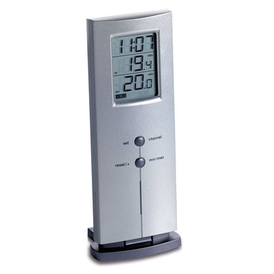 TFA Germany Logo Digital Wireless Thermometer 16cm 30.3009.54.IT 1
