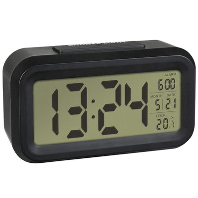 TFA Germany Lumio DIgital Alarm Clock Black  14cm 60.2018.01 1