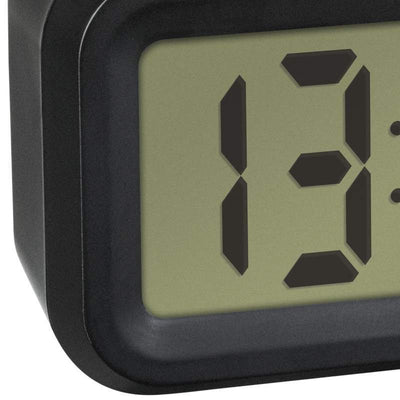 TFA Germany Lumio DIgital Alarm Clock Black  14cm 60.2018.01 3