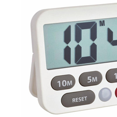 TFA Germany Maddox Digital Timer and Stopwatch White 9cm 38.2038.02 2