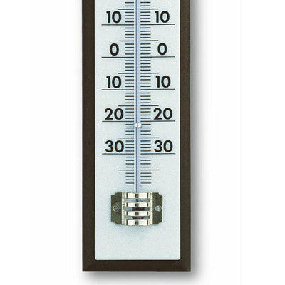 TFA Germany Marlon Mahogany Analogue Thermometer 21cm 12.1013 3