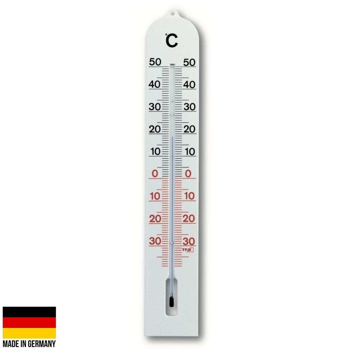 TFA Germany Milo Outdoor Weatherproof Bicolour Scale Thermometer 41cm 12.3005 1
