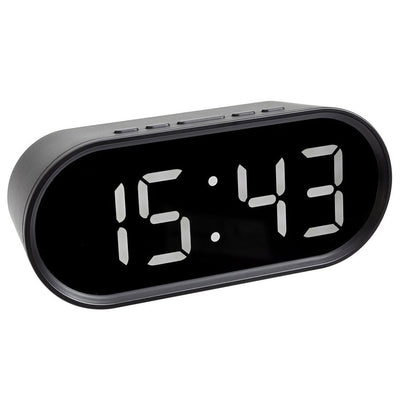TFA Germany Reese Digital LED Temperature Alarm Clock 15cm 60.2025.01 2