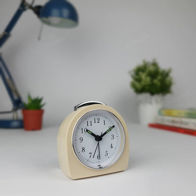 TFA Germany Retro Alarm Clock Cream 9cm 60.1021.09 1