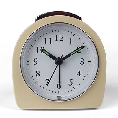 TFA Germany Retro Alarm Clock Cream 9cm 60.1021.09 2