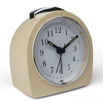 TFA Germany Retro Alarm Clock Cream 9cm 60.1021.09 3