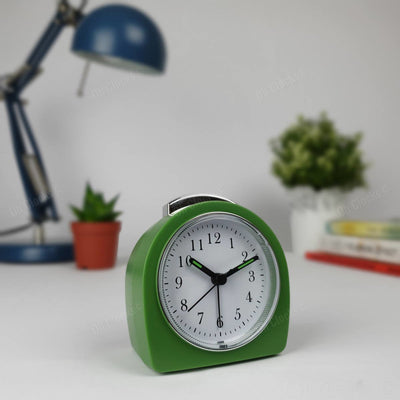 TFA Germany Retro Alarm Clock Green 9cm 60.1021.04 1