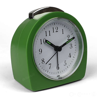 TFA Germany Retro Alarm Clock Green 9cm 60.1021.04 3