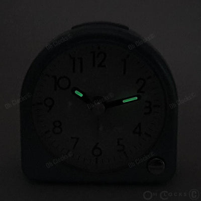 TFA Germany Retro Alarm Clock Green 9cm 60.1021.04 6
