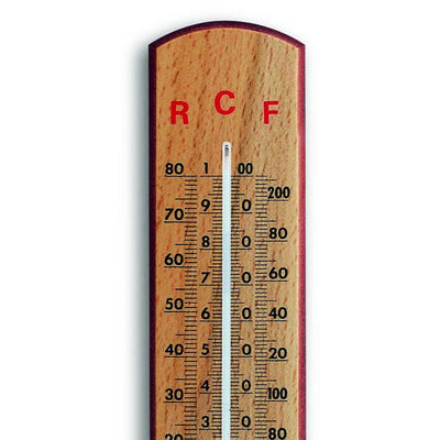 TFA Germany Riggs Celsius Fahrenheit Réaumur School Thermometer 26cm 12.1007 2