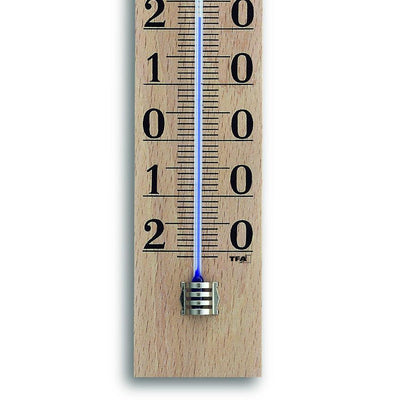 TFA Germany Ryden Beech Wood Large Scale Analogue Thermometer 25cm 12.1005 3