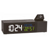 TFA Germany Show Projection and USB Charging Digital Alarm Clock Black 17cm 60.5014.01 2