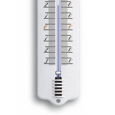 TFA Germany Tavin Indoor Outdoor Metal Thermometer White 23cm 12.2010.20 3