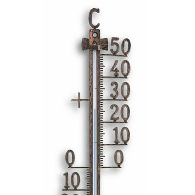 TFA Germany Teo Classic Outdoor Metal Thermometer Antique Copper 28cm 12.5001.51 2