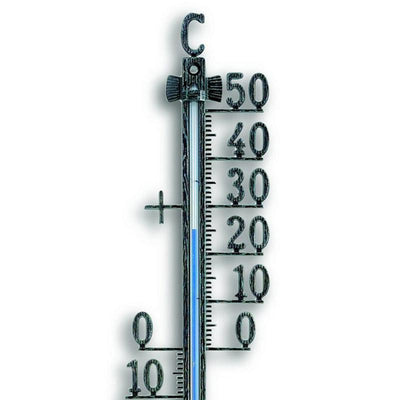 TFA Germany Teo Classic Outdoor Metal Thermometer Antique Tin 28cm 12.5001.50 2