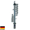 TFA Germany Teo Classic Outdoor Metal Thermometer Black 28cm 12.5001.01 1