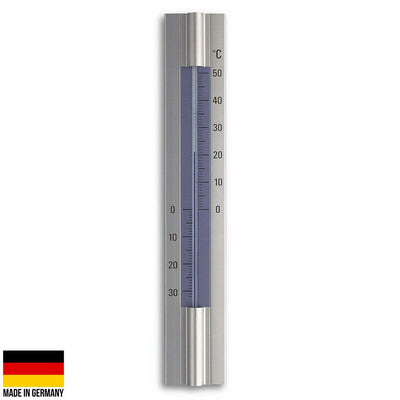 TFA Germany Trevis Indoor Outdoor Aluminium Thermometer 30cm 12.2045 1