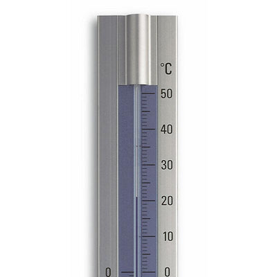 TFA Germany Trevis Indoor Outdoor Aluminium Thermometer 30cm 12.2045 2