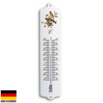 TFA Germany Trigg Indoor Outdoor Metal Thermometer White 33cm 12.2011.20 1