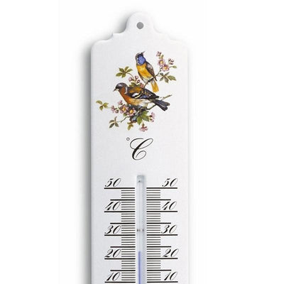 TFA Germany Trigg Indoor Outdoor Metal Thermometer White 33cm 12.2011.20 2