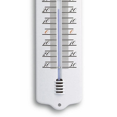 TFA Germany Trigg Indoor Outdoor Metal Thermometer White 33cm 12.2011.20 3