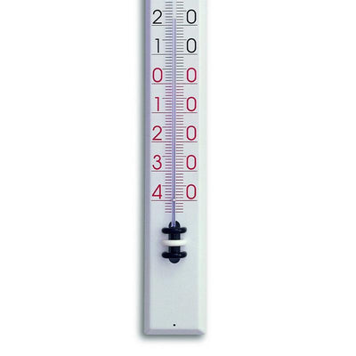 TFA Germany Tyler Indoor Outdoor Metal Thermometer White 81cm 12.2015 3