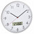 TFA Wez Analogue with Digital Temperature & Humidity Wall Clock, 31cm