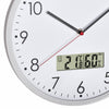 TFA Germany Wez Analogue with Digital Temperature and Humidity Wall Clock 31cm 60.3048.02 3