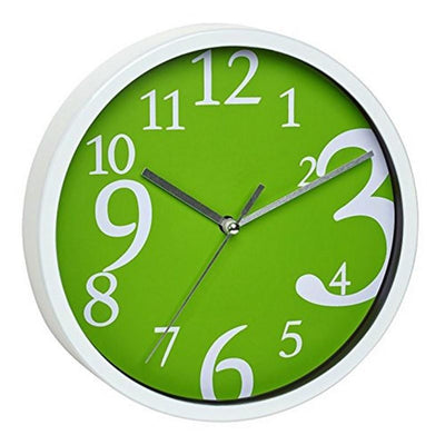 TFA Zoom Numbers Wall Clock Green 20cm 60.3034.04