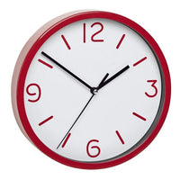 TFA Red Frame Red Numbers Wall Clock 20cm 60.3033.05