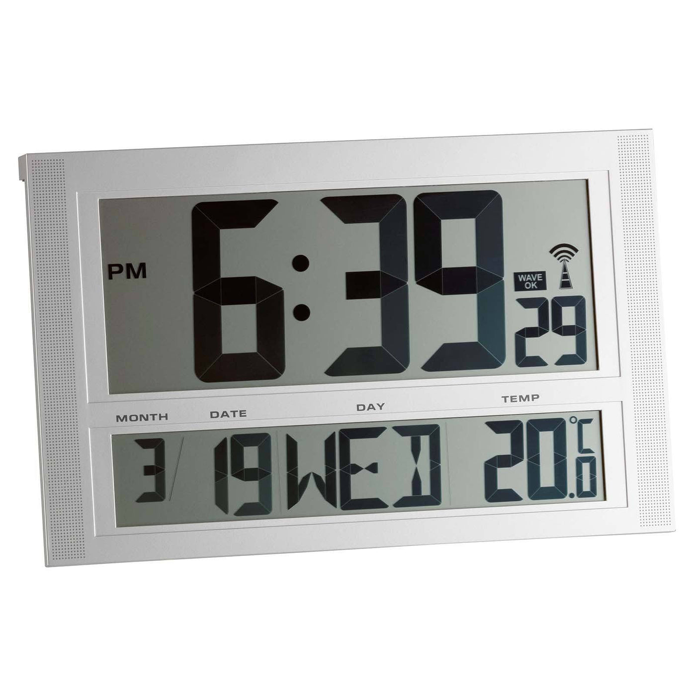 Online digital clock with date in Perth