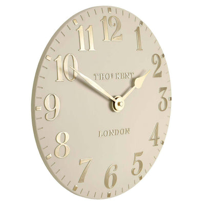 Thomas Kent Arabic Wall Clock Barley Angle 31cm KC12074