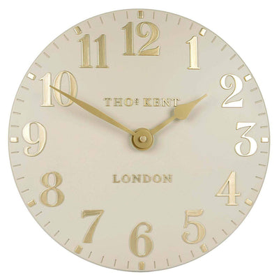 Thomas Kent Arabic Wall Clock Barley Front 31cm KC12074