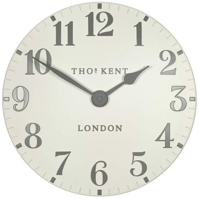 Thomas Kent Arabic Wall Clock Double Cream 31cm KC12174 1