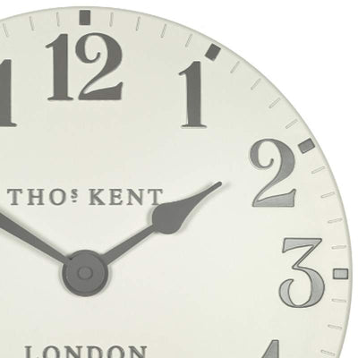 Thomas Kent Arabic Wall Clock Double Cream 31cm KC12174 2