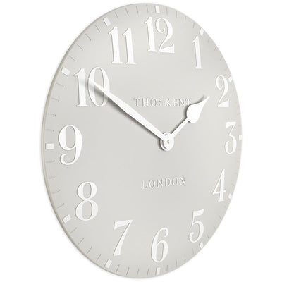 Thomas Kent Arabic Wall Clock Dove Grey 50cm CA20017 1