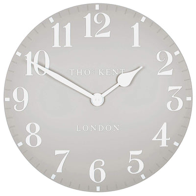 Thomas Kent Arabic Wall Clock Dove Grey 50cm CA20017 3