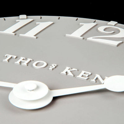 Thomas Kent Arabic Wall Clock Dove Grey 50cm CA20017 4