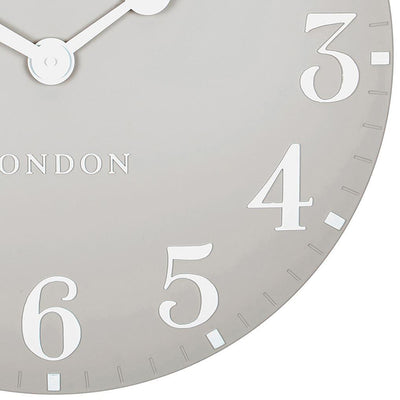 Thomas Kent Arabic Wall Clock Dove Grey 50cm CA20017 6