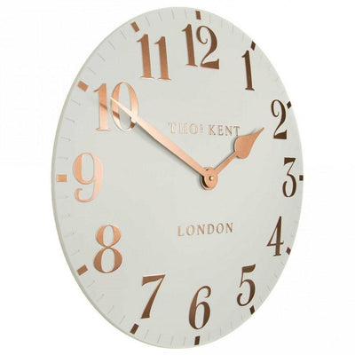 Thomas Kent Arabic Wall Clock Flint Grey 31cm CA12002 1