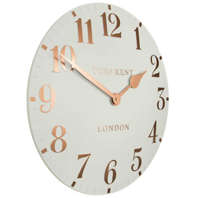 Thomas Kent Arabic Wall Clock Flint Grey 50cm CA20012 1