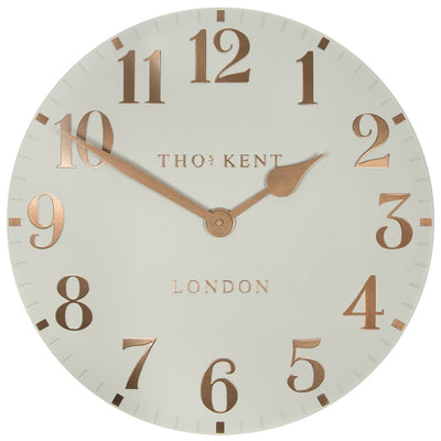 Thomas Kent Arabic Wall Clock Flint Grey 50cm CA20012 3