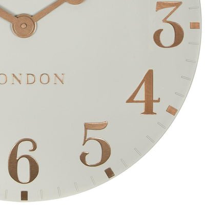 Thomas Kent Arabic Wall Clock Flint Grey 50cm CA20012 6