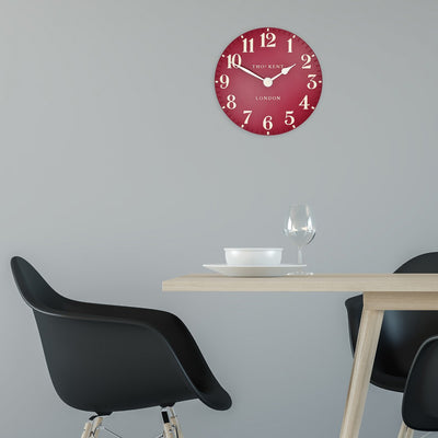 Thomas Kent Arabic Wall Clock Red Lifestyle 31cm KC12059