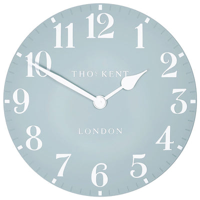 Thomas Kent Arabic Wall Clock Stonewash Blue 50cm CA20019 3