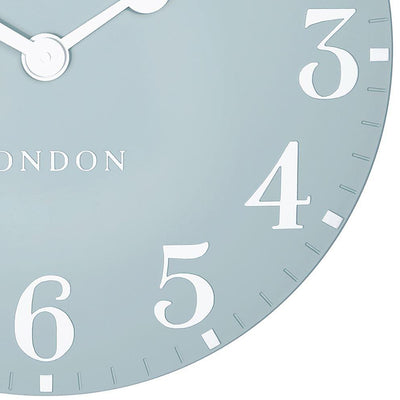 Thomas Kent Arabic Wall Clock Stonewash Blue 50cm CA20019 6
