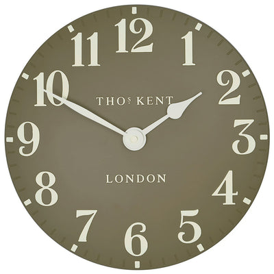 Thomas Kent Arabic Wall Clock Taupe 31cm CA12012 3
