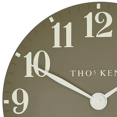 Thomas Kent Arabic Wall Clock Taupe 31cm CA12012 5