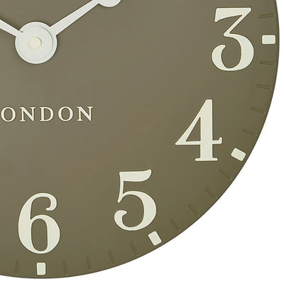 Thomas Kent Arabic Wall Clock Taupe 31cm CA12012 6